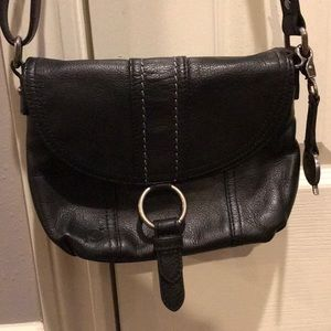 Sakroots crossbody bag with adjustable strap.